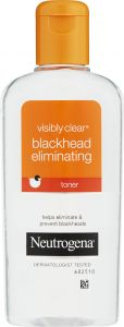 Neutrogena Visibly clear black head eliminating toner 200 ml