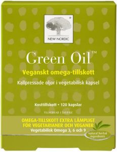 New Nordic Green Oil 120 st