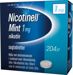 Nicotinell Sugtablett mint 1 mg 204 st