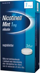 Nicotinell Sugtablett mint 1 mg 36 st