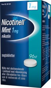 Nicotinell Sugtablett mint 1 mg 96 st