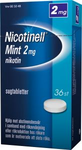 Nicotinell Sugtablett mint 2 mg 36st