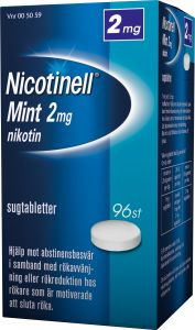 Nicotinell Sugtablett mint 2 mg 96 st