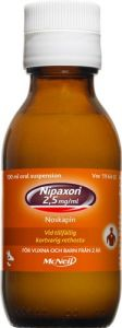 Nipaxon oral suspension 2,5mg/ml, 100ml