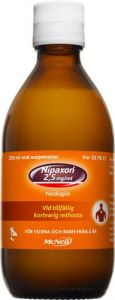 Nipaxon oral suspension 2,5mg/ml, 250ml
