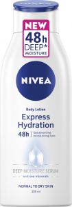 NIVEA Body lotion express hydration 48h 400 ml