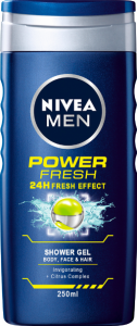 NIVEA Men Shower power refresh 250 ml
