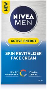 NIVEA Men Skin energy face cream q10 50 ml