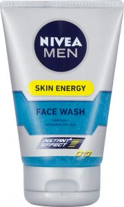 NIVEA Men Skin energy facial cleanser q10 100 ml