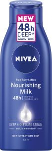 NIVEA Rich body lotion nourishing milk 48h 400 ml