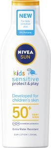 Nivea Sun Kids Sens Protect Lotion SPF50+ 200 ml