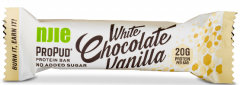 NJIE Propud Protein bar white chocolate vanilla 55 g
