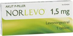 Norlevo tablett 1,5 mg 1st