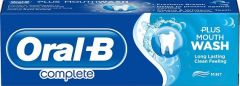 Oral-B Complete refreshing clean peppermint 75 ml