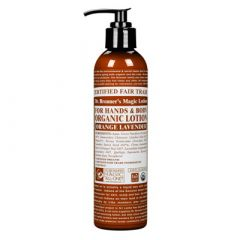 Dr Bronner Orange & Lavender Body Lotion 237 ml