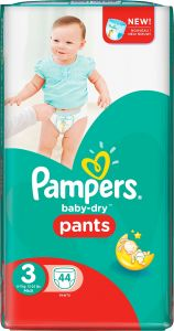 Pampers Baby-Dry Pants S3 (6-11 kg) 44 st