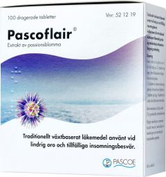 Pascoflair tabletter, 100 st