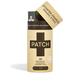Patch Activated Charcoal Organic Strips 25 st