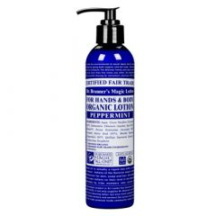 Dr Bronner Peppermint Body Lotion 240 ml