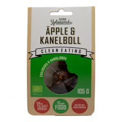 Clean Eating Rawboll Äpple&Kanel 105 g