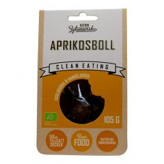Clean Eating Rawboll Aprikos 105 g