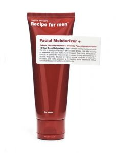 Recipe For Men Facial Moisturizer+ 75 mm