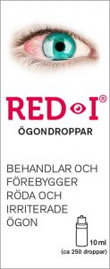 RED-I Ögondroppar 10 ml