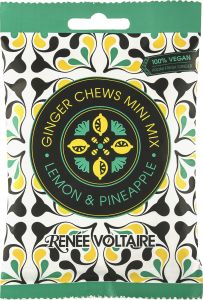Renée Voltaire Ginger Chews Mini Mix Lemon Pineapple 48 g