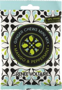 Renée Voltaire Ginger Chews Mini Mix Mango Peppermint 48 g