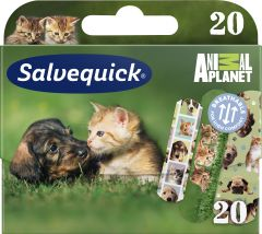 Salvequick Animal Planet 20 st