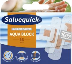 Salvequick Aqua block family pack 16 st