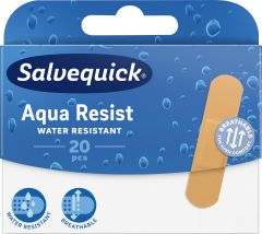 Salvequick Aqua resist medium 20 st