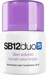 SB12 Munskölj duo 50 ml