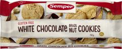 Semper White Chocolate Brazil Nut Cookies 150 g