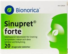 Sinupret Forte dragerad tablett 20 st