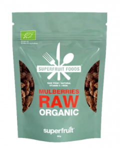 Superfruit Foods Mulberries Raw Organic 80 g