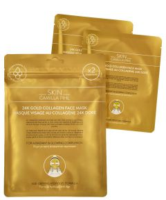 Skin Camilla Phil 24 karat Gold Face Mask 2 st