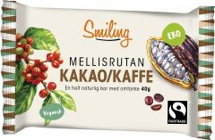 Smiling Kakao/kaffe bar 40 g