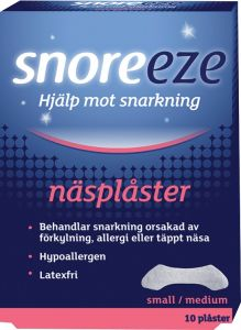 Snoreeze Näsplåster small/medium
