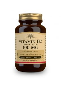 Solgar Vitamin B2 100 mg