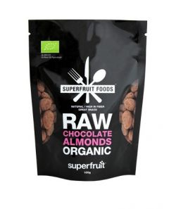 Superfruit Foods Raw Chocolate Almonds Organic 100 g
