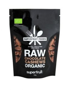 Superfruit Foods Raw Chocolate Cashews Organic 100 g