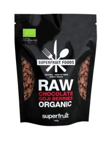 Superfruit Foods Raw Chocolate Goji Berries Organic 100 g