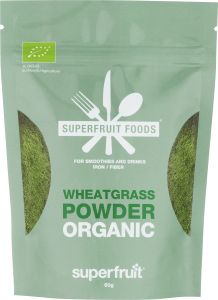 Superfruit Foods Wheatgrass Powder Organic 60 g