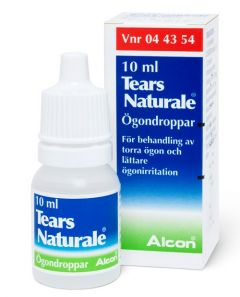 Tears Naturale ögondroppar, 3 mg/ml + 1 mg/ml, flaska 10ml