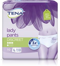 Tena Lady pants discreet large 10 st