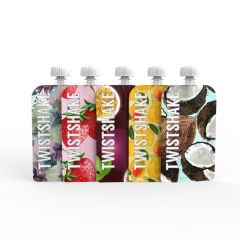 Twistshake Squeeze Bag 100 ml 5 st