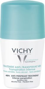 Vichy Antiperspirant deodorant 48h 50 ml