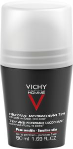 Vichy Homme 72h deo anti-trace 50 ml