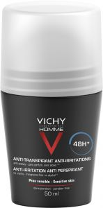 Vichy Homme Deo Roll-on 48h Anti-trace 50 ml